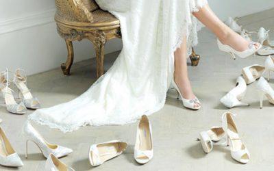3 ideas fantásticas en zapatos para novia