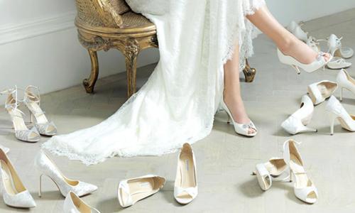 3 ideas fantásticas en zapatos para novia - salones faroli | donde